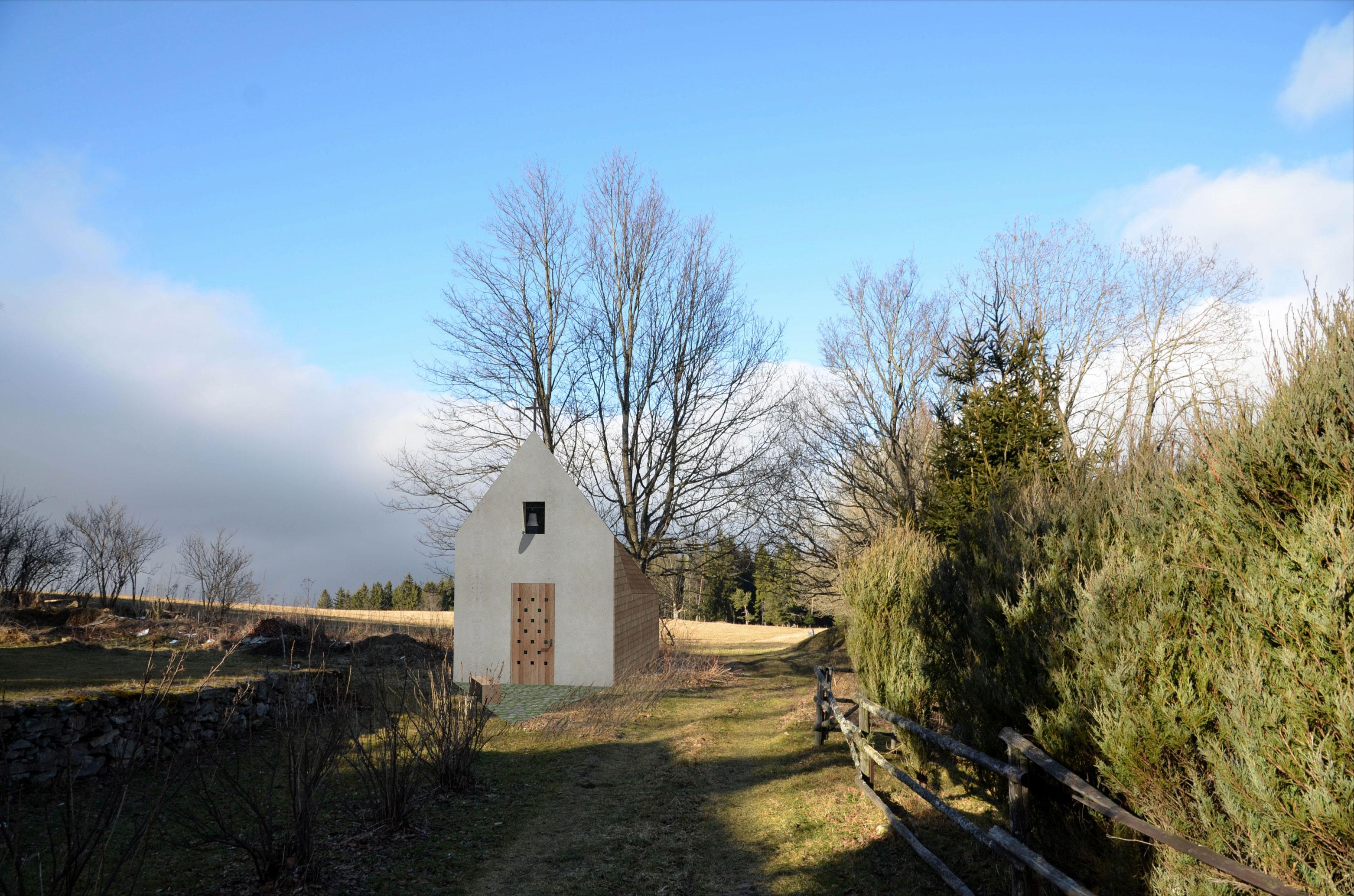 Projekce-Cerny-Kaple-sv-Huberta (2)