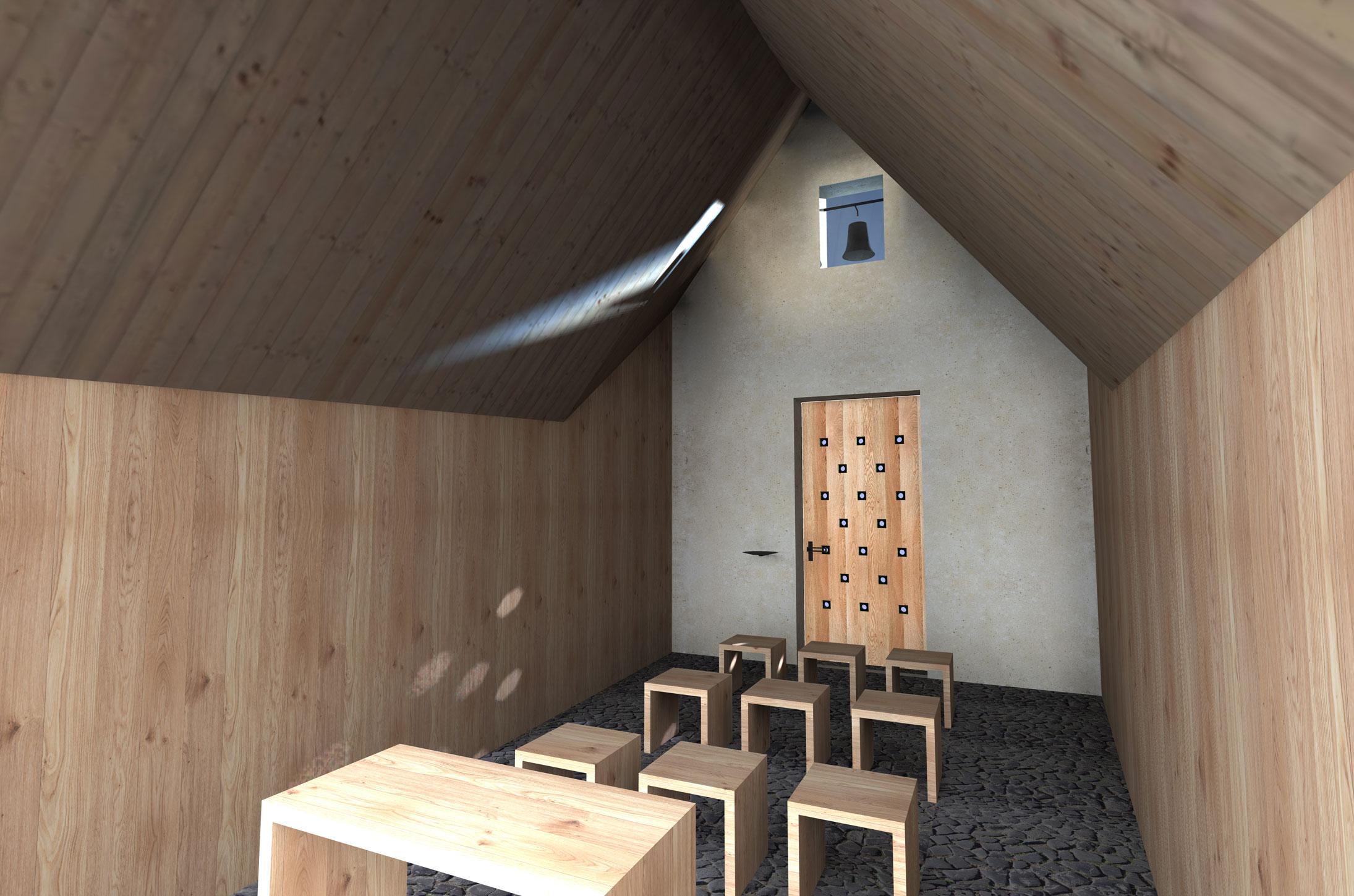 Projekce-Cerny-Kaple-sv-Huberta (4)